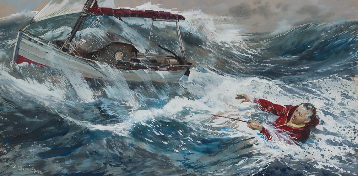 Galerie Zdeňka Buriana_plavec